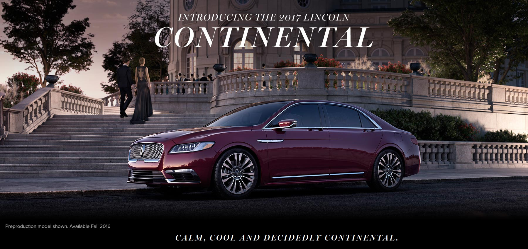 Information And Reviews On The New 2017 Lincoln Continental