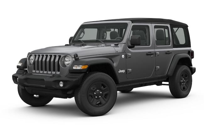 New 2018 Jeep Wrangler UNLIMITED SPORT 4X4 Sport Utility New Orleans, LA
