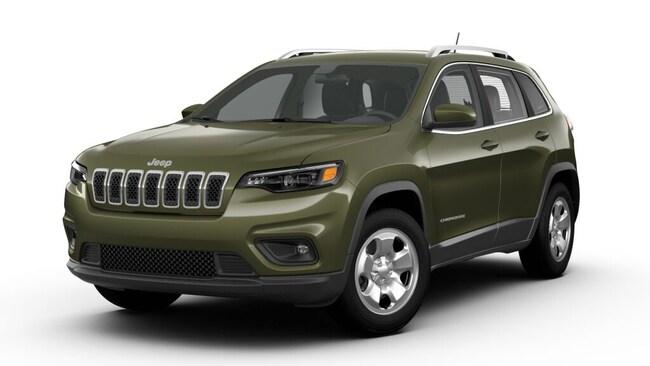 New 2019 Jeep Cherokee LATITUDE FWD Sport Utility New Orleans, LA