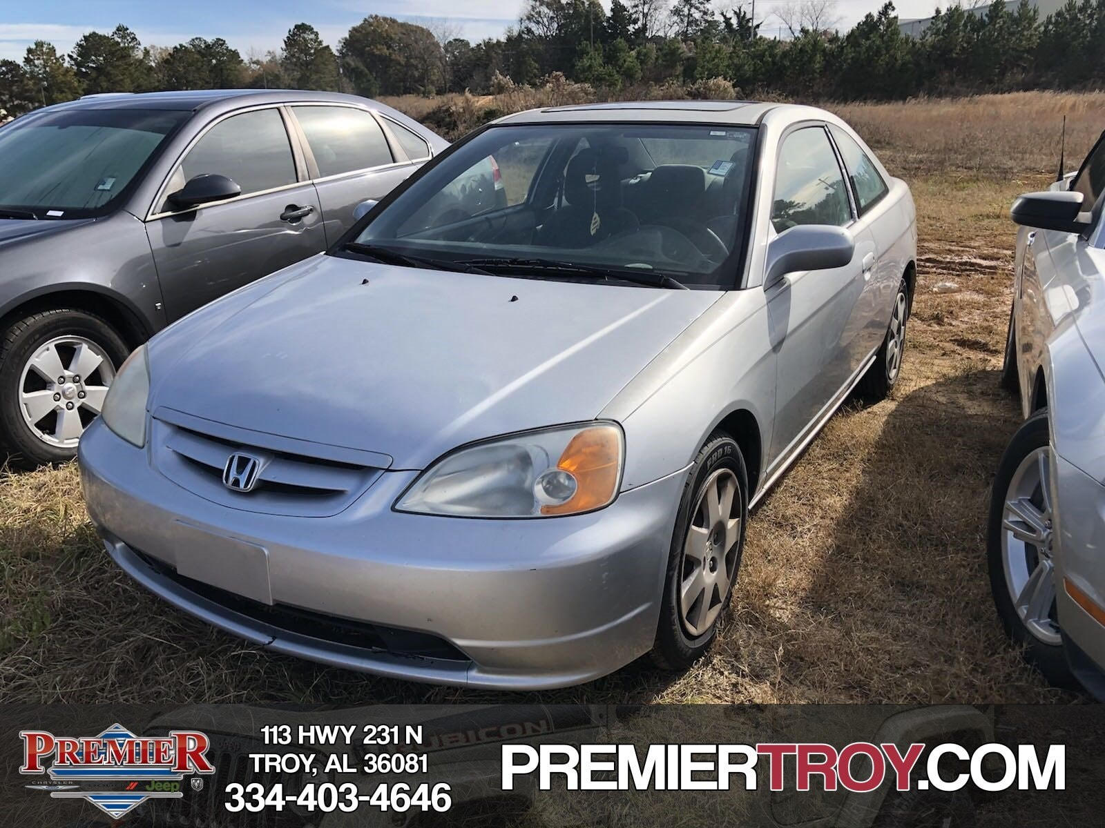 2002 Honda Civic EX Coupe