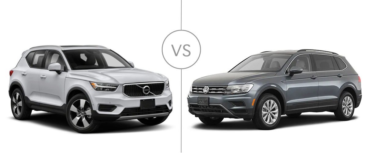 Volvo XC40 vs VW Tiguan   Volvo Cars White Plains