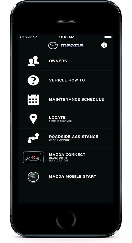 My Mazda App >> My Mazda App Palisades Mazda