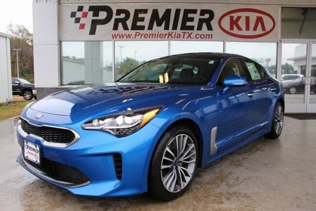 New 2019 Kia Stinger Premium Sedan in Lufkin, TX