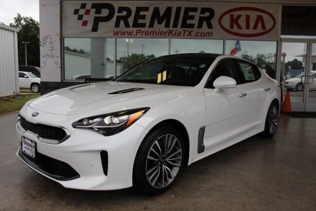 New 2018 Kia Stinger Premium Sedan in Lufkin, TX
