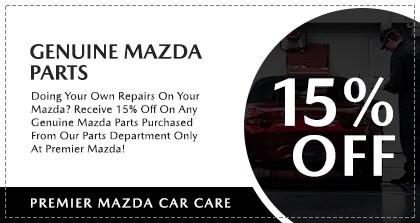 Premier Mazda Car Care Genuine Mazda Parts