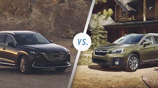 Comparison: 2019 Mazda CX-9 vs 2019 Subaru Outback