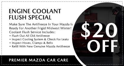 Premier Mazda Car Care - Engine Coolant Flush