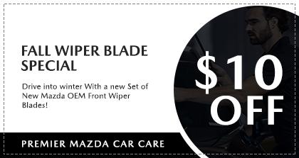 Premier Mazda Car Care - Fall Wiper Blade Special