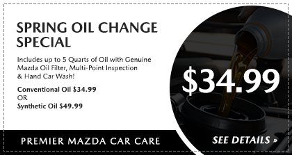 Spring Service Oil Change Special