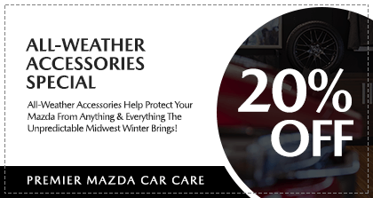 Premier Mazda Fall Car Care - All-Weather Accessories Special