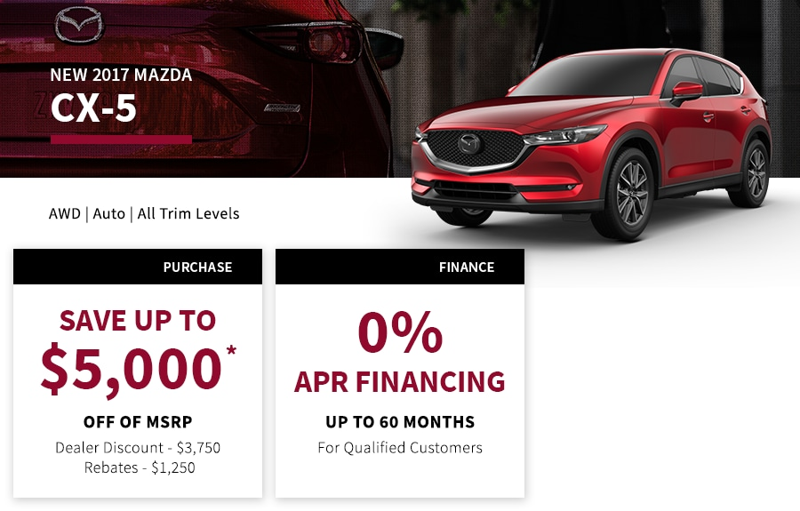 CX5 Special Offer