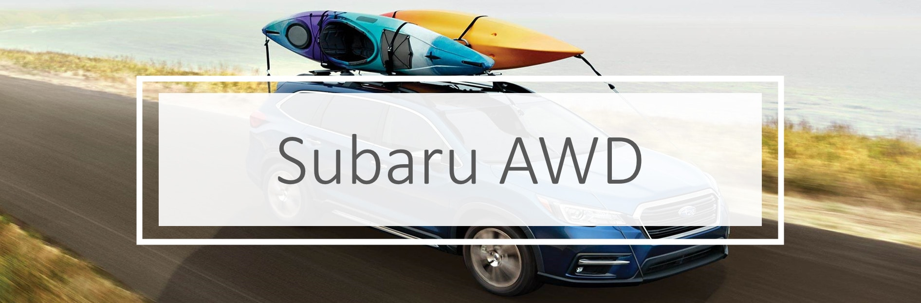 Does Subaru have AWD?