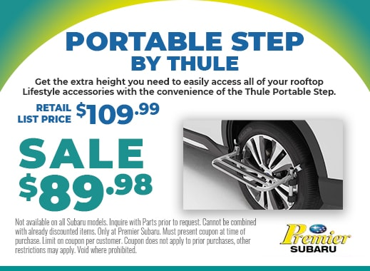 portable step by Thule on sale for only $89.98