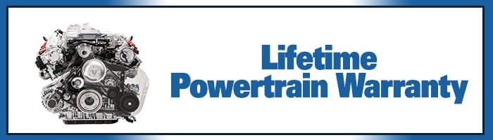 Lifetime Power-train Warranty with every new Subaru purchased