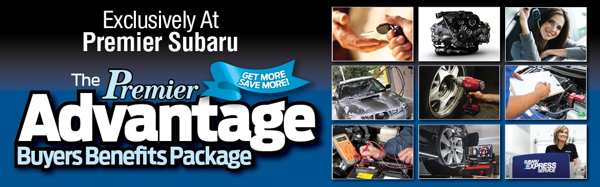 Premier Subaru Advantage Buyers Benefits