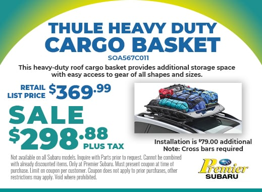 Thule Cargo Basket on sale for $298.88