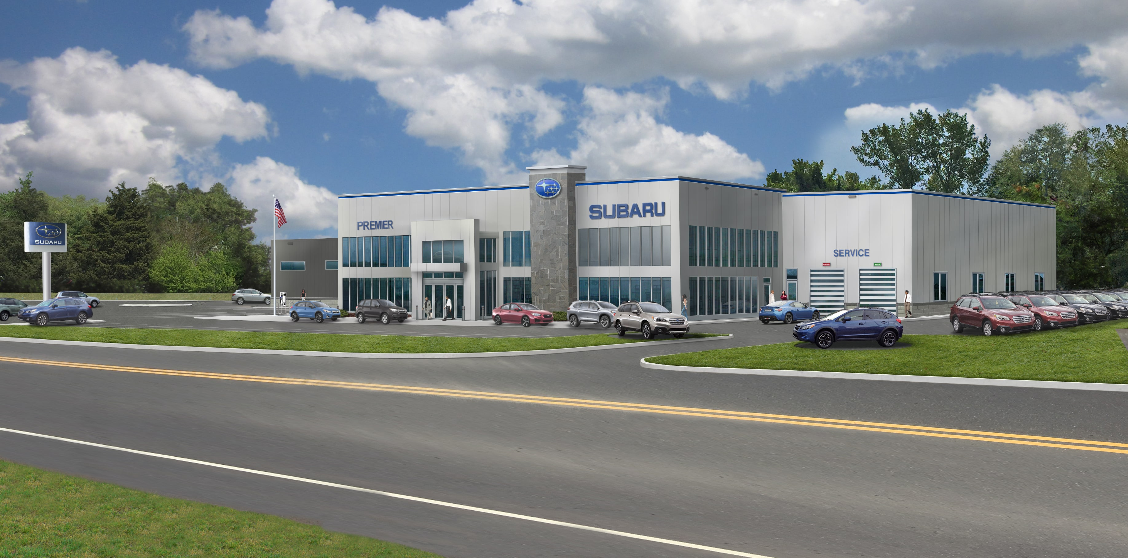 Subaru Dealers Ct >> The New Premier Subaru Facility Coming Soon Ct Subaru Dealer