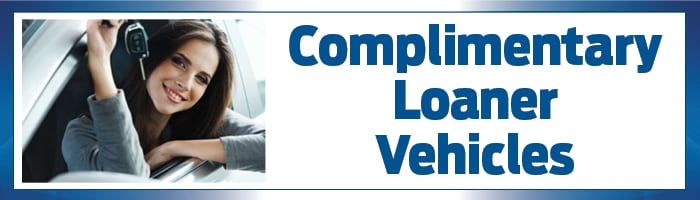Complimentary Loaner Vehicle Benefit