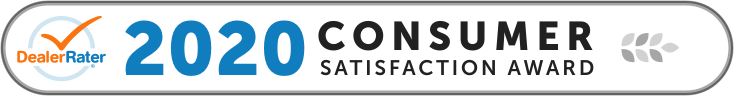 2020 DealerRater.com Consumer Satisfaction Award winner logo