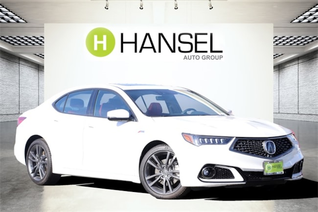 New 2019 Acura TLX 2.4 8-DCT P-AWS with A-SPEC RED Sedan For Sale in Santa Rosa, CA