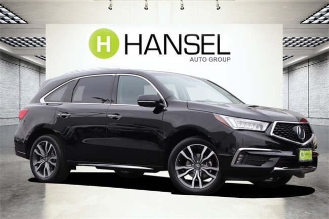 New 2019 Acura MDX SH-AWD with Advance Package SUV For Sale in Santa Rosa, CA