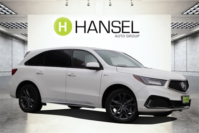 New 2019 Acura MDX SH-AWD with A-Spec Package SUV For Sale in Santa Rosa, CA