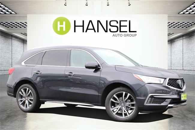 New 2019 Acura MDX with Advance Package SUV For Sale in Santa Rosa, CA