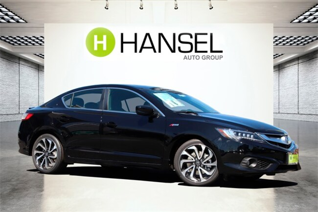 New 2018 Acura ILX with Premium and A-SPEC package Sedan For Sale in Santa Rosa, CA