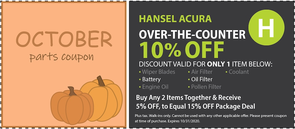 Over the Counter 10% Off