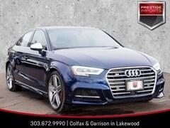 New 2019 Audi S3 Premium Plus Sedan WAUB1GFF4K1017811 Denver Colorado