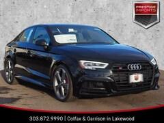New 2019 Audi S3 Premium Plus Sedan WAUB1GFF5K1018773 Denver Colorado