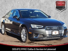 New 2019 Audi A4 Premium Plus Sedan WAUENAF40KN002468 Denver Colorado