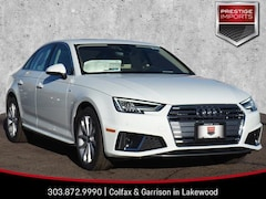 New 2019 Audi A4 Premium Plus Sedan WAUENAF46KN002619 Denver Colorado