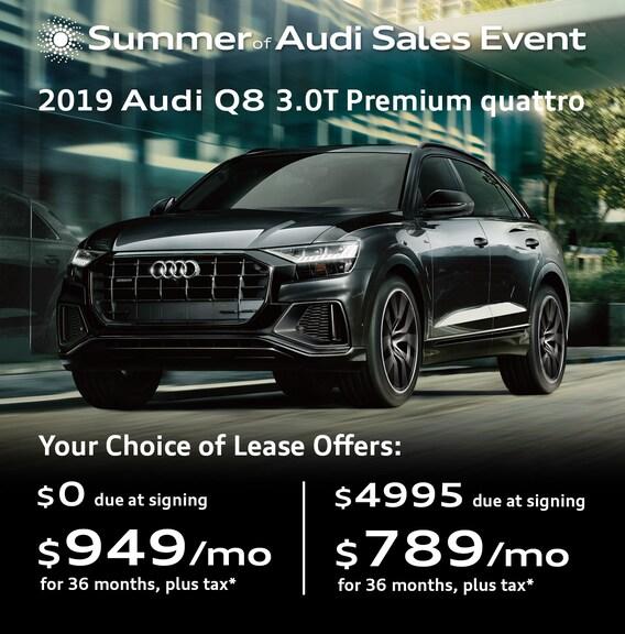 New Audi Vehicle Specials & Offers | Audi Car Deals Denver CO