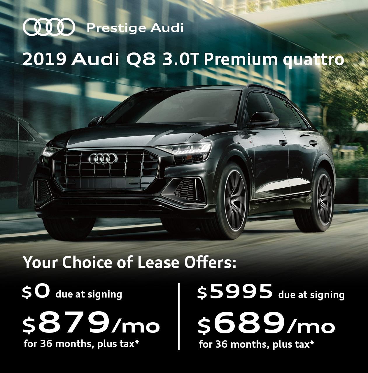 Audi Lease Offer: Lease Deals & Offers At Prestige Audi Near