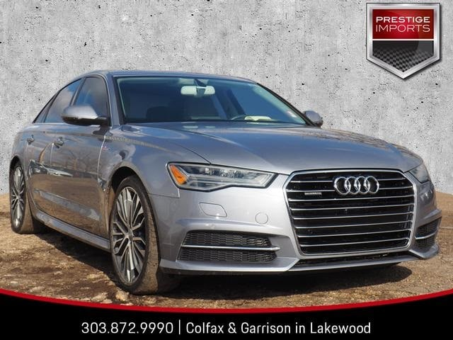 Certified Used 2016 Audi A6 3.0T Premium Plus Sedan Denver Colorado