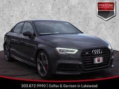 New 2019 Audi S3 Premium Plus Sedan WAUB1GFF8K1017620 Denver Colorado