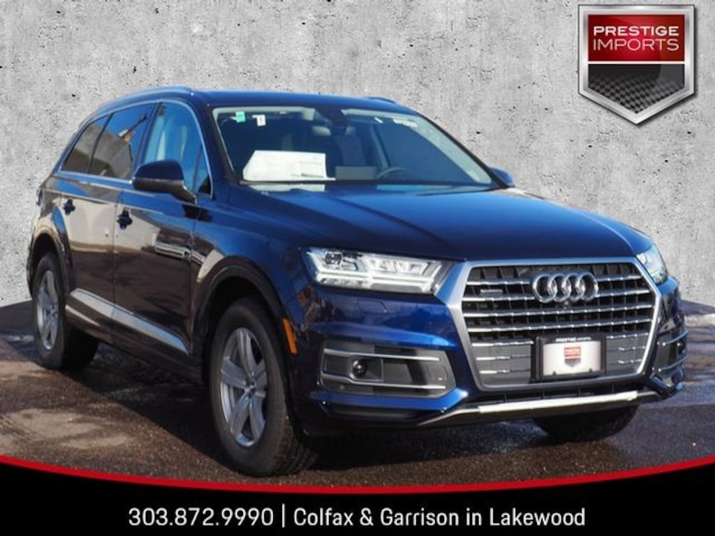 2019 Audi Q7 For Sale Denver Co Lakewood 190177