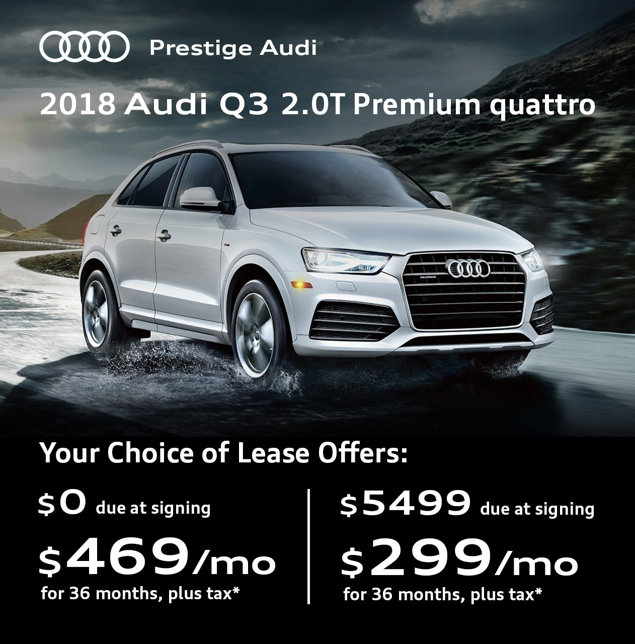 Audi Specials Lease Deals Offers At Prestige Audi Near Denver Co - Audi offers