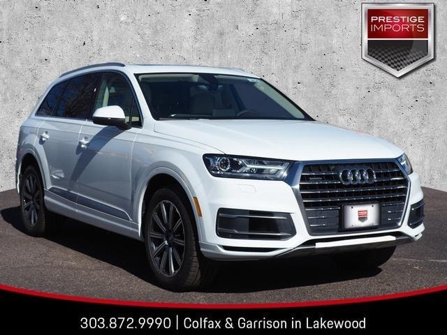 New 2019 Audi Q7 Premium SUV Denver Colorado