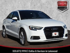 New 2019 Audi A3 Premium Sedan WAUBEGFF6K1018933 Denver Colorado