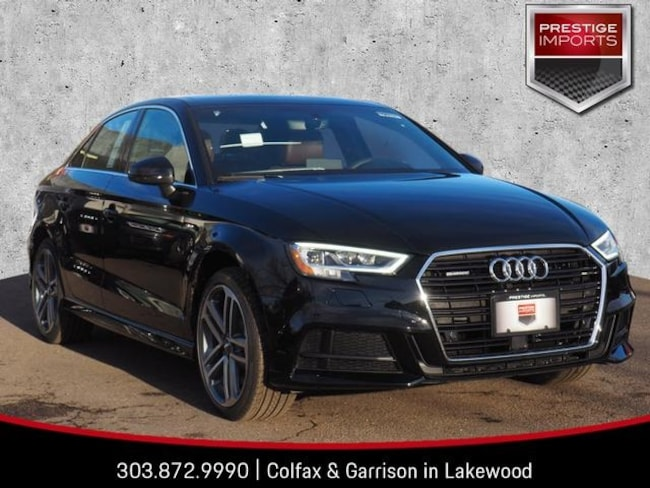 New 2019 Audi A3 Premium Plus Sedan Denver Colorado