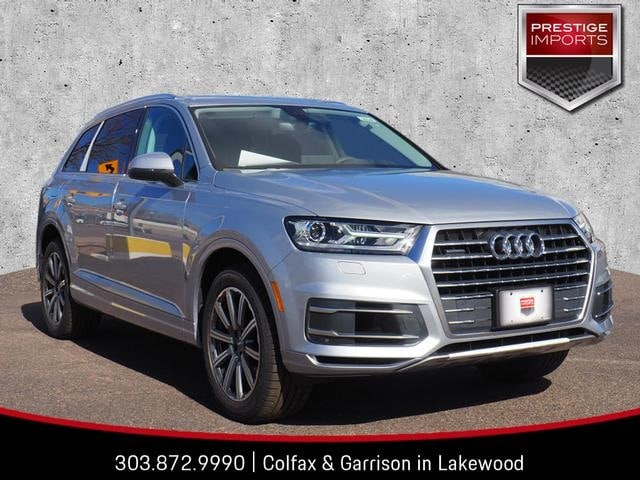 New 2019 Audi Q7 3.0T Premium SUV Denver Colorado