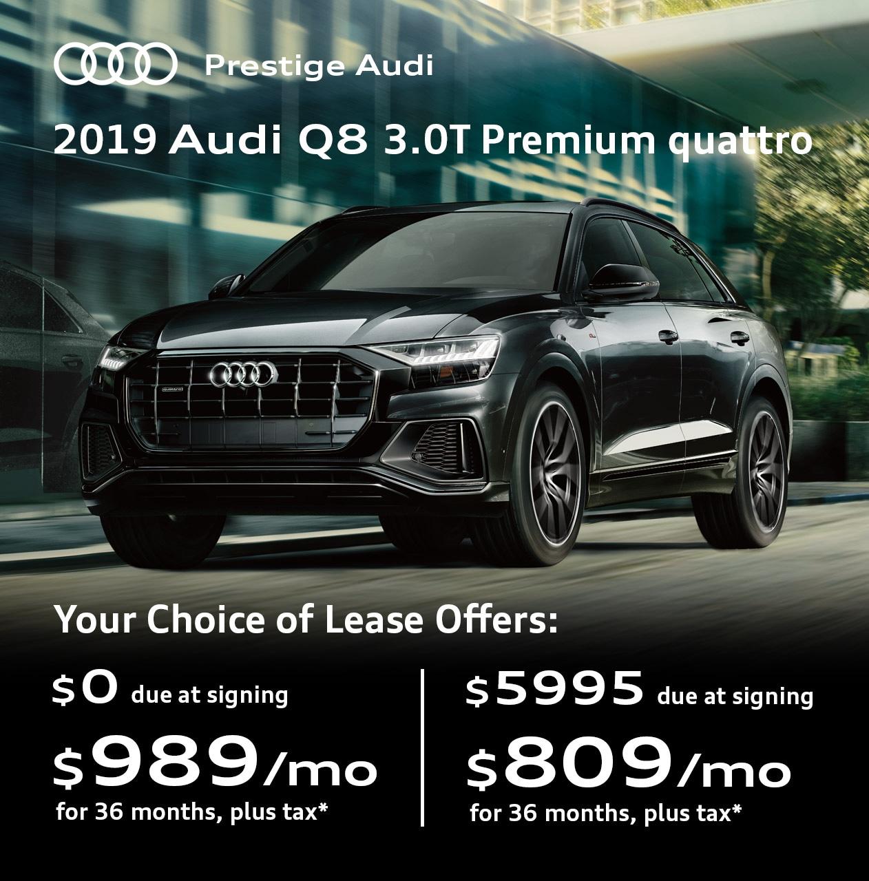 Lease Deals & Offers At Prestige Audi Near