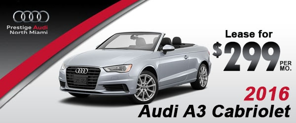 Audi North Miami New Audi Dealership In North Miami FL - Audi lease promotions