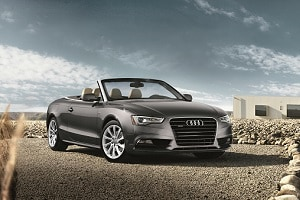 2018 Audi A5 in Monsoon Gray