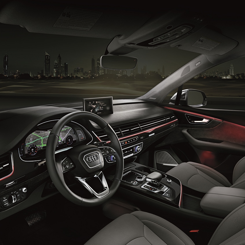 Audi Q7 Interior Tan: Audi North Miami FL