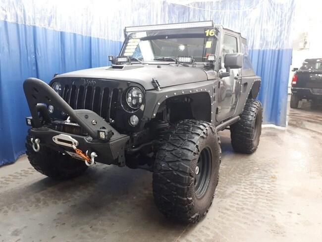 2016 Jeep Wrangler Willys Wheeler SUV