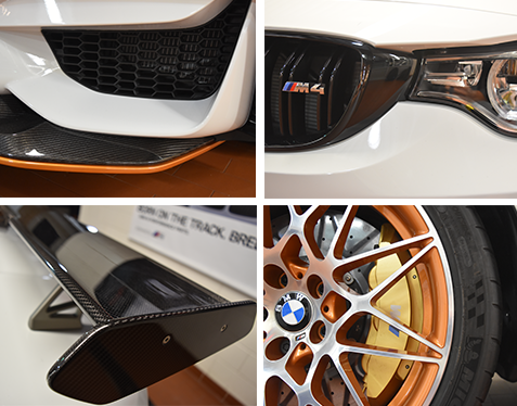 2016 BMW M4 GTS Collage