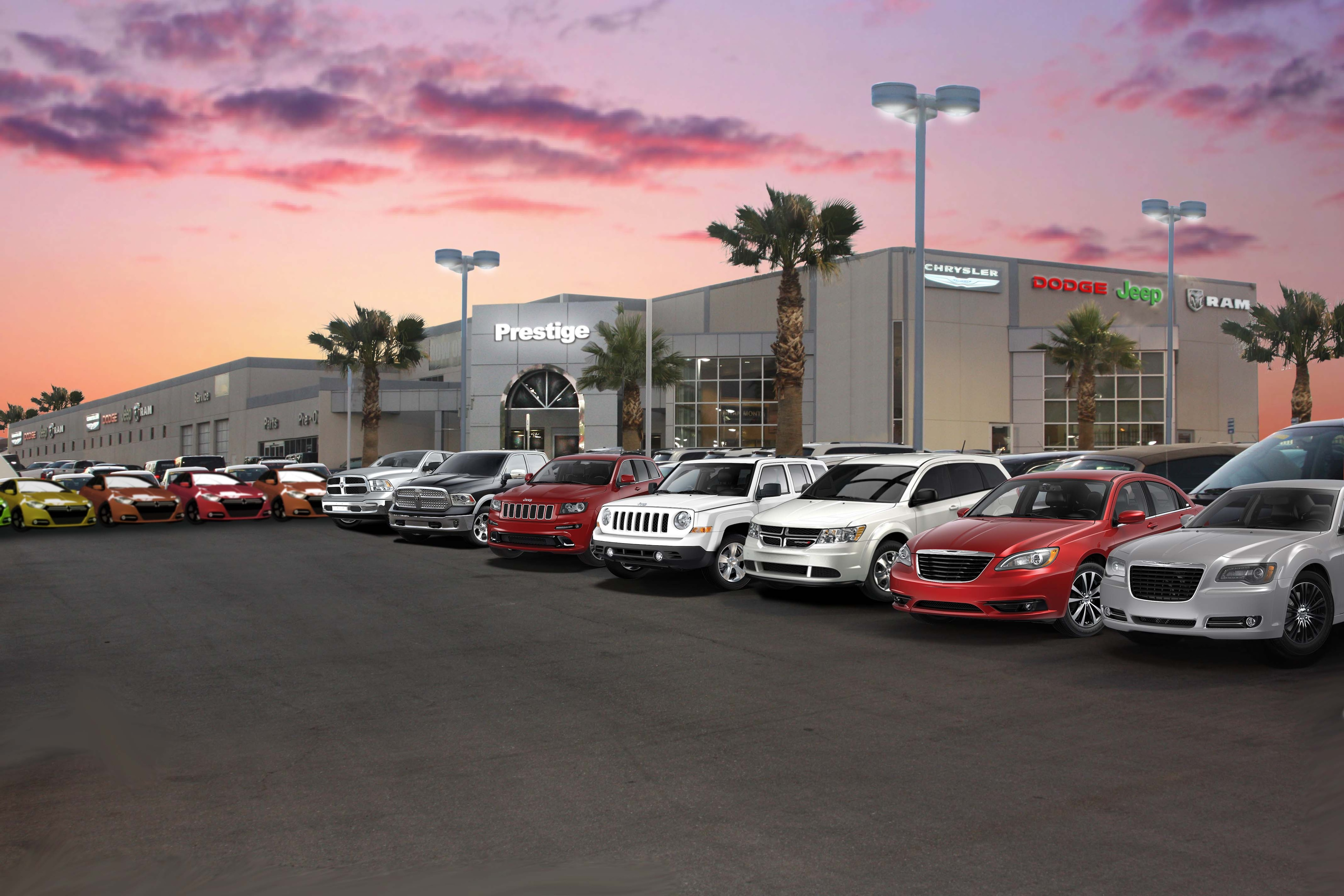 About prestige chrysler jeep dodge your las vegas new and used car dealer
